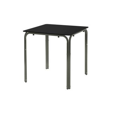 Mesa terraza compacto negro